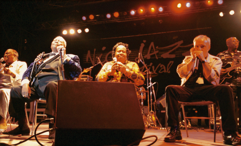 Linda Hopkins, BB King, Marva Wright, JJM (Nice 2001)