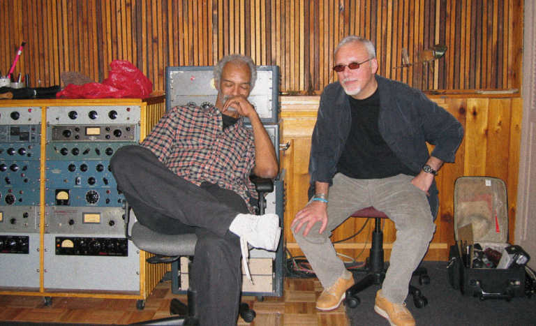 Gil Scott-Heron, JJM (Sear Sound, New York City 2003)